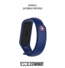 Ремешок ArmorStandart Superhero for Xiaomi Mi Band 5 Captain America Blue рис.3