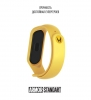 Ремешок ArmorStandart Superhero for Xiaomi Mi Band 6/5 Wolverine Yellow мал.3