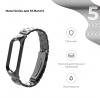 Ремешок Armorstandart Metal Band 503 для Xiaomi Mi Band 5 Black рис.2
