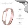 Ремешок Armorstandart Metal Band 503 для Xiaomi Mi Band 5 Rose Gold рис.2