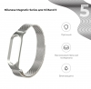 Ремешок Armorstandart Milanese Magnetic Band 503 для Xiaomi Mi Band 6/5 Silver мал.2