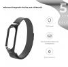 Ремешок Armorstandart Milanese Magnetic Band 503 для Xiaomi Mi Band 6/5 Black мал.2