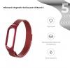 Ремешок Armorstandart Milanese Magnetic Band 503 для Xiaomi Mi Band 6/5 Red мал.2