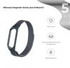 Ремешок Armorstandart Milanese Magnetic Band 503 для Xiaomi Mi Band 6/5 Titanium Grey мал.2