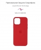 Apple iPhone 12/12 Pro Silicone Case (OEM) - Red рис.2