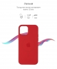 Apple iPhone 12/12 Pro Silicone Case (OEM) - Red рис.3
