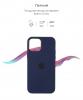 Apple iPhone 12/12 Pro Silicone Case (OEM) - Deep Navy рис.3