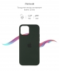 Apple iPhone 12 mini Silicone Case (OEM) - Cyprus Green рис.3