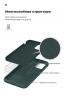 Панель ArmorStandart ICON Case for Apple iPhone 12 Mini Pine Green (ARM57484) мал.6