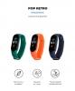 Комплект ремешков Armorstandart для Xiaomi Mi Band 5 (Green/Midnight Blue/Orange) (ARM57625) рис.2