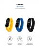 Комплект ремешков Armorstandart для Xiaomi Mi Band 5 (Black/Royal Blue/Yellow) (ARM57621) рис.2