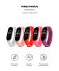 Комплект ремешков Armorstandart для Xiaomi Mi Band 5 (Hot Pink/Pink/Purple/Red/White) (ARM57623) рис.2