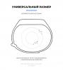 Комплект ремешков Armorstandart для Xiaomi Mi Band 5 (Light Grey/Marsala/Mint) (ARM57624) рис.3