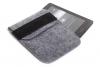 Чехол Gmakin для Amazon Kindle Paperwhite/Voyage. светло серый на резинке (GK01) мал.2