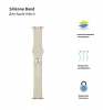 Armorstandart Sport Band (3 Straps) для Apple Watch 38mm/40mm Ivory White (ARM57867) мал.2