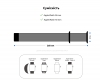 Armorstandart Sport Band (3 Straps) для Apple Watch 38mm/40mm Lavander Grey (ARM57871) мал.4