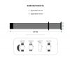 Armorstandart Nylon Band для Apple Watch All Series 38/40 mm Hibiscus (ARM57852) мал.3