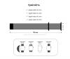 Armorstandart Nylon Band для Apple Watch All Series 42/44 mm Reflective White (ARM57855) мал.3