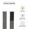 Armorstandart Nylon Band для Apple Watch All Series 42/44 mm White (ARM57856) мал.2