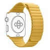 Apple Leather Loop Band for Apple Watch 42mm/44mm Yellow рис.1