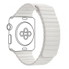 Apple Leather Loop Band for Apple Watch 42mm/44mm White рис.1