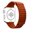 Apple Leather Loop Band for Apple Watch 38mm/40mm Orange рис.1
