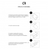 Защитное стекло Armorstandart Full Glue HD для Huawei P40 Lite E Black (ARM58290) рис.4