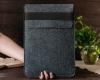 Чехол для ноутбука Gmakin для Macbook Air/Pro 13,3 серый, конверт, на резинке (GM71) мал.10