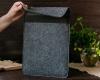 Чехол для ноутбука Gmakin для Macbook Air/Pro 13,3 серый, конверт, на резинке (GM71) мал.11