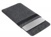 Чехол для ноутбука Gmakin для Macbook Air/Pro 13,3 серый, конверт, на резинке (GM71) мал.4