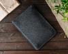 Чехол для ноутбука Gmakin для Macbook Air/Pro 13,3 серый, конверт, на резинке (GM71) мал.6