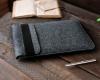 Чехол для ноутбука Gmakin для Macbook Air/Pro 13,3 серый, конверт, на резинке (GM71) мал.9