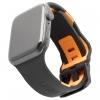 UAG Civilian Silicone Watch Strap for Apple Watch 38/40 mm (OEM) - black/orange мал.1