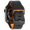 UAG Civilian Silicone Watch Strap for Apple Watch 38/40 mm (OEM) - black/orange мал.5