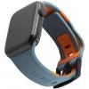 UAG Civilian Silicone Watch Strap for Apple Watch 38/40 mm (OEM) - slate/orange мал.1