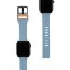 UAG Civilian Silicone Watch Strap for Apple Watch 38/40 mm (OEM) - slate/orange мал.2