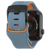 UAG Civilian Silicone Watch Strap for Apple Watch 38/40 mm (OEM) - slate/orange мал.5