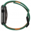 UAG Civilian Silicone Watch Strap for Apple Watch 38/40 mm (OEM) - green/orange мал.3