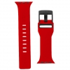 UAG Civilian Silicone Watch Strap for Apple Watch 38/40 mm (OEM) - red/black мал.2