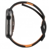 UAG Civilian Silicone Watch Strap for Apple Watch 42/44 mm (OEM) - black/orange мал.6