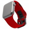 UAG Civilian Silicone Watch Strap for Apple Watch 42/44 mm (OEM) - red/black мал.1