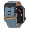 UAG Civilian Silicone Watch Strap for Apple Watch 42/44 mm (OEM) - slate/orange мал.5