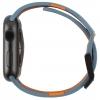 UAG Civilian Silicone Watch Strap for Apple Watch 42/44 mm (OEM) - slate/orange мал.6