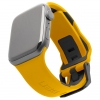 UAG Civilian Silicone Watch Strap for Apple Watch 42/44 mm (OEM) - yellow/black мал.1