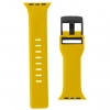 UAG Civilian Silicone Watch Strap for Apple Watch 42/44 mm (OEM) - yellow/black мал.2