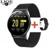 LIGE Smart Watch Milanese Magnetic Black (BW0083F) мал.1