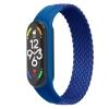 Ремешок ArmorStandart Braided Solo Loop для Xiaomi Mi Band 4/5/6 Blue size L мал.1
