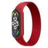 Ремешок ArmorStandart Braided Solo Loop для Xiaomi Mi Band 4/5/6 Red size L мал.1