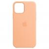 Silicone Case Original for Apple iPhone 12/12 Pro (OEM) - Cantaloupe мал.1
