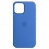 Silicone Case Original for Apple iPhone 12/12 Pro (OEM) - Capri Blue мал.1